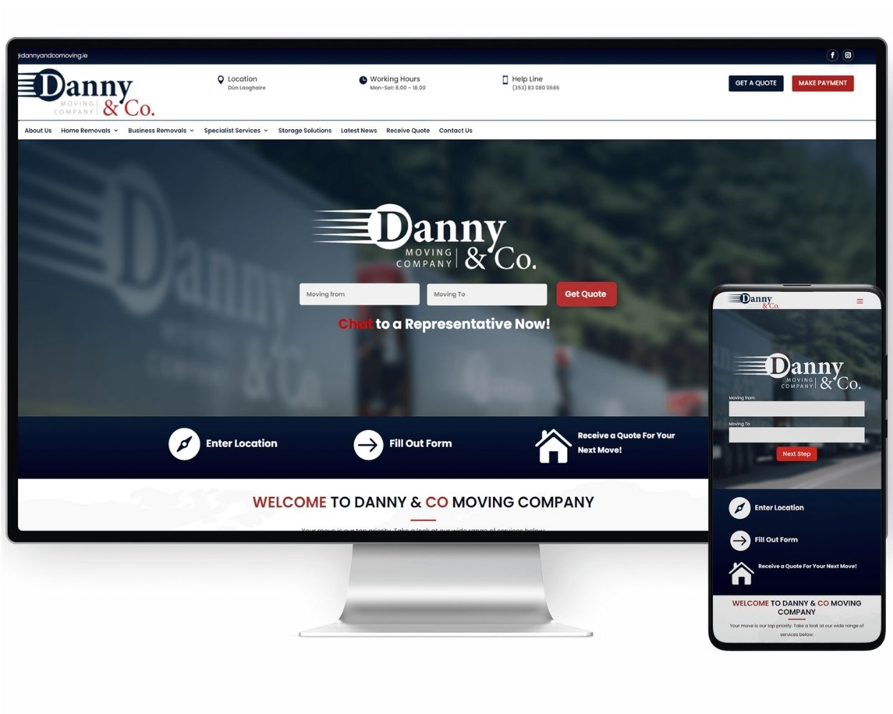 Professional Website Designer in Ireland
