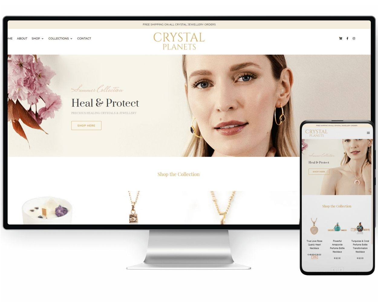 Crystal Planets   Ecommerce Branding Agency